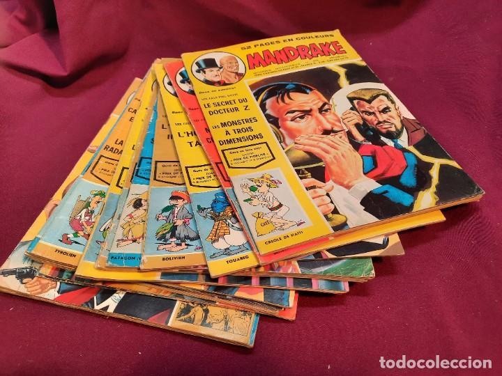 SPECIAL MANDRAKE ( TEXTO EN FRANCES ) 17 COMICS (Tebeos y Comics - Comics Lengua Extranjera - Comics Europeos)