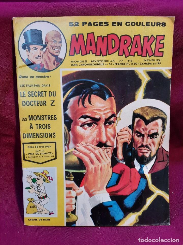 Cómics: SPECIAL MANDRAKE ( TEXTO EN FRANCES ) 17 COMICS - Foto 2 - 251201485