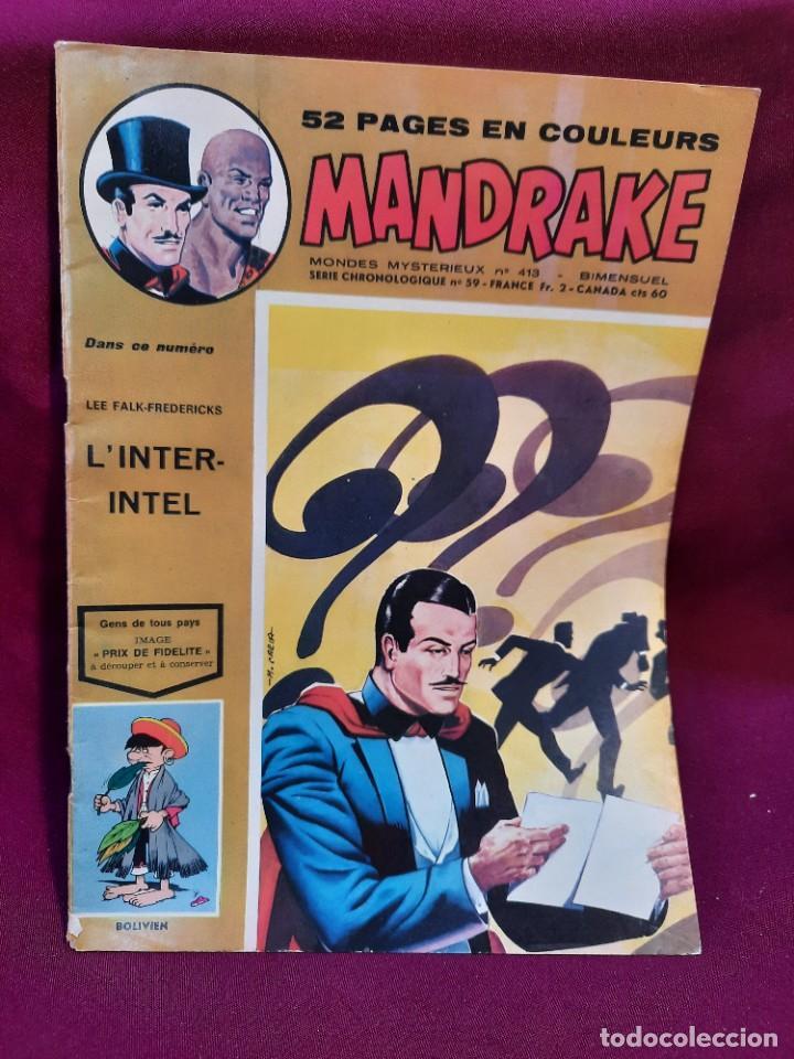 Cómics: SPECIAL MANDRAKE ( TEXTO EN FRANCES ) 17 COMICS - Foto 5 - 251201485