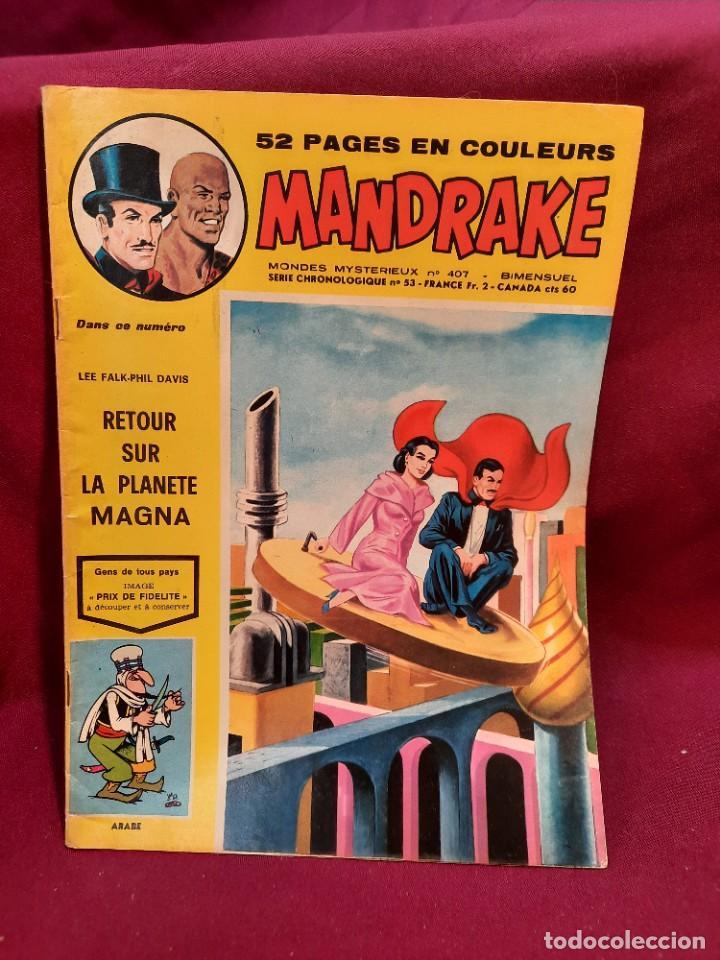 Cómics: SPECIAL MANDRAKE ( TEXTO EN FRANCES ) 17 COMICS - Foto 8 - 251201485