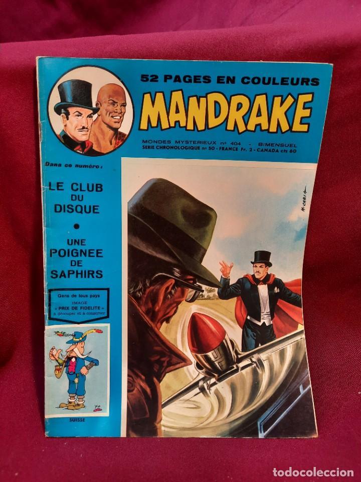 Cómics: SPECIAL MANDRAKE ( TEXTO EN FRANCES ) 17 COMICS - Foto 10 - 251201485