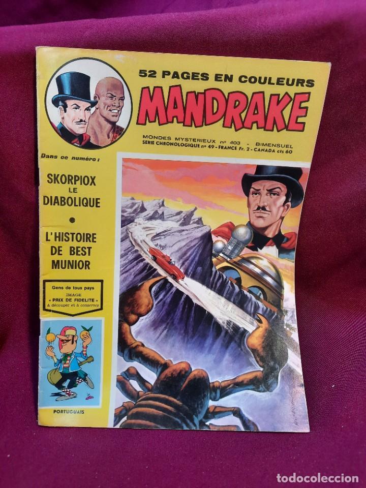Cómics: SPECIAL MANDRAKE ( TEXTO EN FRANCES ) 17 COMICS - Foto 11 - 251201485