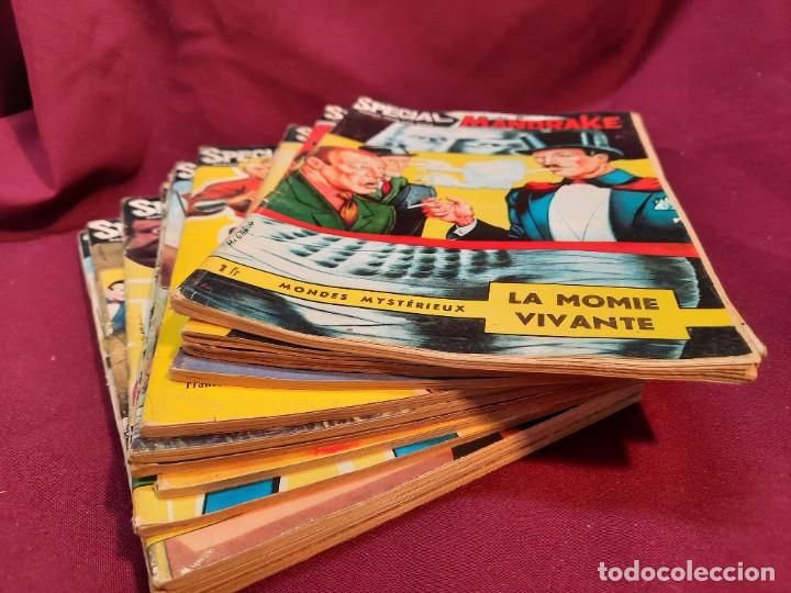 SPECIAL MANDRAKE ( TEXTO EN FRANCES ) 22 COMICS (Tebeos y Comics - Comics Lengua Extranjera - Comics Europeos)