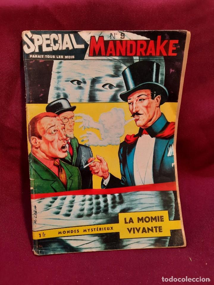 Cómics: SPECIAL MANDRAKE ( TEXTO EN FRANCES ) 22 COMICS - Foto 2 - 251202555