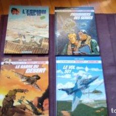 Cómics: TANGUY & LAVERDURE (EN FRANCÉS) 4 TOMOS. Lote 253253830