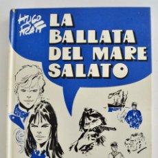Cómics: HUGO PRATT. LA BATALLA DEL MARE SALATO. ARNOLDO MONDADORI EDITORE. 2ª EDICIÓN. MILÁN, 1973.TAPA DURA. Lote 253533690