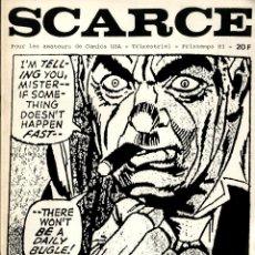 Cómics: SCARCE-1 (1983) FANZINE FRANCÉS DEDICADO AL COMIC USA. ESPECIAL GIL KANE. Lote 253725180