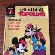 Cómics: GLI ALBI DI TOPOLINO Nº 935 (EDICION ORIGINAL EN ITALIANO). Lote 253758650