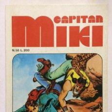 Cómics: CAPITAN MIKI - N.58 - SERIE ALTERNATA - ED. DARDO 1972 - ED. DARDO. Lote 253796450