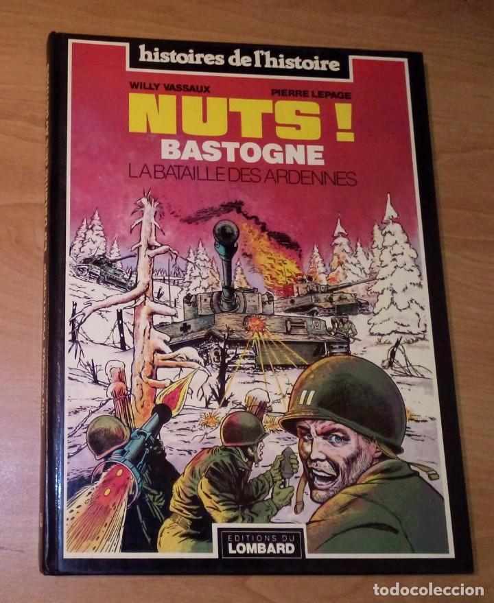 WILLY VASSAUX, PIERRE LEPAGE - NUTS! BASTOGNE. LA BATAILLE DES ARDENNES [CÓMIC BÉLICO] (Tebeos y Comics - Comics Lengua Extranjera - Comics Europeos)