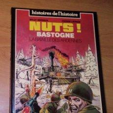 Cómics: WILLY VASSAUX, PIERRE LEPAGE - NUTS! BASTOGNE. LA BATAILLE DES ARDENNES [CÓMIC BÉLICO]. Lote 130253662
