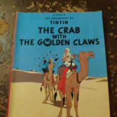 Cómics: HERGE, THE AVENTURES OF TINTIN N°3: THE CRAB WITH THE GOLDEN CLAWS (ED. DEL PRADO). Lote 255662845