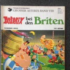 Cómics: ASTERIX BEI DEN BRITEN - EN ALEMÁN - DELTA VERLAG GMBH - 1971 - ¡BUEN ESTADO!. Lote 257282640