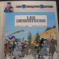 Cómics: LES TUNIQUES BLEUES--LES DESERTEURS--LAMBIL CAUVIN. Lote 257285540