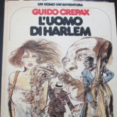 Comics : CREPAX--L ´UOMO DI HARLEM. Lote 260587735