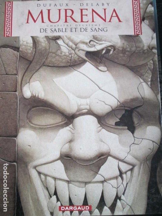 MURENA--10--DE SABLE ET DE SANG--DUFAUX--DELABY (Tebeos y Comics - Comics Lengua Extranjera - Comics Europeos)