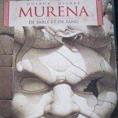 Cómics: MURENA--10--DE SABLE ET DE SANG--DUFAUX--DELABY. Lote 260842130