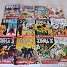 Comics : LOTE DE 12 TEBEOS MARTIN MYSTERE ZONA X ITALIANO,AÑOS 90. Lote 262135880