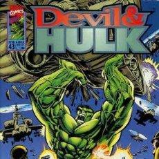 Cómics: DEVIL & HULK N.43 - ED. MARVEL ITALIA - MARVEL ITALIA. Lote 262801100