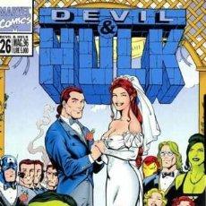Cómics: DEVIL & HULK N.26 - ED. MARVEL ITALIA - MARVEL ITALIA. Lote 262801105
