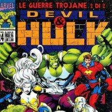 Cómics: DEVIL & HULK N.24 - ED. MARVEL ITALIA - MARVEL ITALIA. Lote 262801110