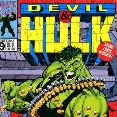 Cómics: DEVIL & HULK N.9 - ED. MARVEL ITALIA - MARVEL ITALIA. Lote 262801115