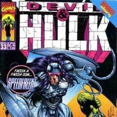 Cómics: DEVIL & HULK N.33 - ED. MARVEL ITALIA - MARVEL ITALIA. Lote 262801120