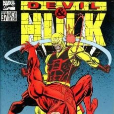 Cómics: DEVIL & HULK N.37 - ED. MARVEL ITALIA - MARVEL ITALIA. Lote 262801130