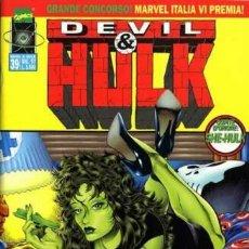 Cómics: DEVIL & HULK N.39 - ED. MARVEL ITALIA - MARVEL ITALIA. Lote 262801135