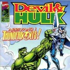 Cómics: DEVIL & HULK N.45- ED. MARVEL ITALIA - MARVEL ITALIA. Lote 262801140