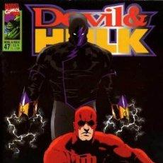 Cómics: DEVIL & HULK N.47- ED. MARVEL ITALIA - MARVEL ITALIA. Lote 262801145