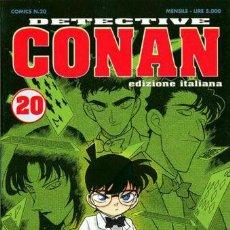 Cómics: DETECTIVE CONAN N.20 - ED COMIC ART (COME NUOVO) - COMIC ART. Lote 262801260