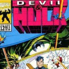 Cómics: DEVIL & HULK N.12 - ED. MARVEL ITALIA - MARVEL ITALIA. Lote 262801270