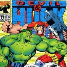 Cómics: DEVIL & HULK N.22 - ED. MARVEL ITALIA - MARVEL ITALIA. Lote 262801280