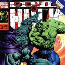 Cómics: DEVIL & HULK N.34 - ED. MARVEL ITALIA - MARVEL ITALIA. Lote 262801290