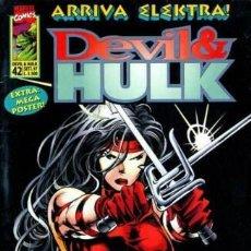 Cómics: DEVIL & HULK N.42 - ED. MARVEL ITALIA - MARVEL ITALIA. Lote 262801295