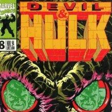 Cómics: DEVIL & HULK N.8 - ED. MARVEL ITALIA - MARVEL ITALIA. Lote 262801300