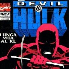 Cómics: DEVIL & HULK ANNO I N.5 - ED. MARVEL ITALIA - MARVEL ITALIA. Lote 262801375