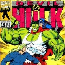 Cómics: DEVIL & HULK N.18 - ED. MARVEL ITALIA - MARVEL ITALIA. Lote 262801385