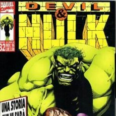 Cómics: DEVIL & HULK N.32 - ED. MARVEL ITALIA - MARVEL ITALIA. Lote 262801395