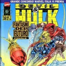 Cómics: DEVIL & HULK N.38 - ED. MARVEL ITALIA - MARVEL ITALIA. Lote 262801400