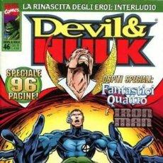 Cómics: DEVIL & HULK N.46 - ED. MARVEL ITALIA - MARVEL ITALIA. Lote 262801405