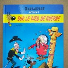 Cómics: RANTANPLAN BÊTISIER 7: SUR LE PIED DE GUERRE (LUCKY COMICS, 2008). POR MORRIS, JANVIER, X. FAUCHE.... Lote 262808520