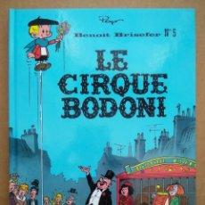 Cómics: BENOÎT BRISEFER N°5: LE CIRQUE BODONI (LE LOMBARD, 2005). POR PEYO, WALTHÉRY Y GOS. EN FRANCÉS.. Lote 262808600