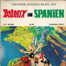 Cómics: COMIC ASTERIX IN SPANIEN EN ALEMÁN, EDICIÓN 1973. Lote 265483209