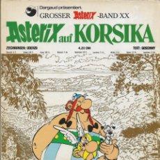 Cómics: COMIC ASTERIX AUF KORSIKA EN ALEMÁN, EDICIÓN 1975. Lote 265485189