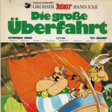 Cómics: COMIC DIE GROBE ÜBERFAHRT ASTERIX EN ALEMÁN EDICIÓN 1976. Lote 265496979