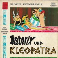 Cómics: COMIC ASTERIX UND KLEOPATRA EN ALEMÁN, EDICIÓN 1968. Lote 265503084