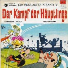 Cómics: COMIC ASTERIX DER KAMPF DER HÄUPTLINGE EN ALEMÁN, EDICIÓN 1969. Lote 265508789