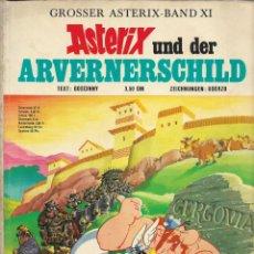 Cómics: COMIC ASTERIX UND DER ARVERNERSCHILD EN ALEMÁN, EDICIÓN 1972. Lote 266060848
